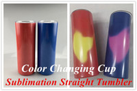 Sublimation Tumbler Heat Sensitive Color Changing Cup by Tou...