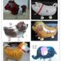 بالونات الجديدة وصول المشي البالونات الحيوان المشي حزب لعب الأطفال اللعب