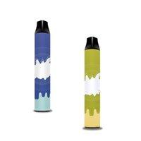 POCO 2in1 Сигарета одноразовое устройство POD набор POD имеет 3 мл каждого предварительно заполненного картриджа до 1000 + 1000 слойков Vape пустой ручка 6 цветов для выбора
