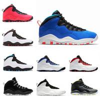 Novo Tinker Huarache Light 10s Sapatos de Basquete Cimento 10 Westbrook Eu sou de volta Branco Branco Preto Cinza Cinza Aço Cinza Homens Esportes Sneakers 41-47