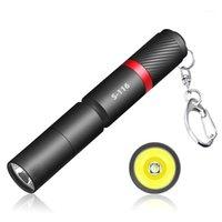 Fenerleri Torches Taşınabilir Mini Penlight Q5 5000LM LED Torch Cep Işık Su Geçirmez Fener Pil Güçlü Hunting1