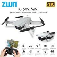 ZWN KF609 RC Drone 4K 720P HD Камера Мини Складной Quadcopter WiFi FPV Selfie Brones Quadrocopter Вертолет Игрушка для детей VS M71