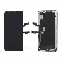 100٪ الأصلي oled ل iphone xs ماكس شاشة lcd شاشة اللمس مع 3d محول الأرقام استبدال الجمعية الهاتف المحمول lcd تنافسية السعر