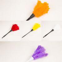 Подвесные перья пылесборники удаление пыли дома Duster пластиковая ручка для чистки инструменты гостиной фиолетовый портативный 1 8xq l2