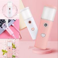 13 cm instrumentos de abastecimento de água amor coração fria spray máquina facial pequeno portátil face face dispositivos fumegantes usb mulheres 6 5cl g2