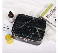 Neue Steinmuster Kosmetiktasche Tragbare Große Kapazität Aufbewahrungstasche Reisetasche