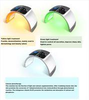 Skin Care Beauty Foldable 7 Color PDT Facial Mask Face Lamp Machine Photon Therapy LED Light Skin Rejuvenation Anti Wrinkle Skin Care Beaut