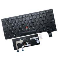Сменные клавиатуры для ноутбуков Клавиатура ноутбука подходит для Lenovo Yoga 460 14 S3 P40 UltraBook Английские клавиши с подсветкой