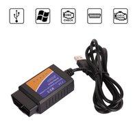 Heißer Verkauf ELM327 USB-Scanner-Diagnose-Tool ELM327 OBD2-Unterstützung Die meisten OBDII-Protokolle ELM327 USB OBD-Code-Reader Scan-Tools-Schnittstelle