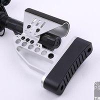 Caccia tattica Buttstock CNC ha reso Lightwight TB Stock AR15 M4 5.56 .223 Tubo Stock Black