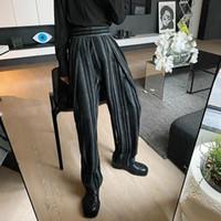 Herren M-XL Winter-modische Hosen Hosen Mode Trend dicke männliche Wollmaterial-Hose koreanische Art lose Trendhosen
