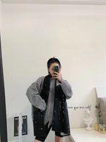 العلامة التجارية الرجال الشتاء الدافئة بيتيت دامييه وشاح أزياء السادة إلكتروني منقوشة متماسكة الصوف نسيج لينة شال