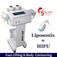 2021 جديد liposonix الجسم التخسيس آلة hifu الوجه رفع التجاعيد إزالة التجاعيد 2 في 1 hifu liposonix إزالة الدهون الموجات فوق الصوتية تشديد الجلد