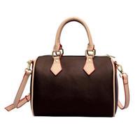 2021 Moda Mujeres Messenger Bag Classic Style Bolsos de moda Bolsos de mujer Bolsos de hombros Totes Lady Bolsos Speedy con correa de hombro, bolso de polvo