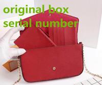 أحدث أكياس المرأة أزياء المرأة حقائب الكتف حقائب سلسلة عالية الجودة حجم 21/11/2 سم نموذج 61276