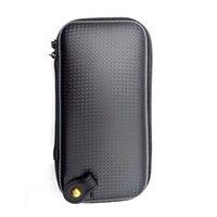 En Kaliteli X6 Fermuar Durumda Çift Ego Evod X6 Çanta Için Stick V8 Vape Kalem 22 Kutu Mod Araçları Kiti Buharlaştırıcı E Sigara Deri Kılıf