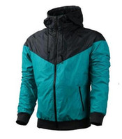 2020 새로운 가을 얇은 Windrunner 남성 여성 운동복 고품질 방수 패브릭 남성 스포츠 재킷 패션 지퍼 까마귀 Plus 크기 3XL