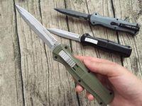 BM 3300 pagano (nero, verde, fibra di carbonio) Benchmade coltello automatico 440C lama autodifesa coltello tascabile campeggio strumento all'aperto