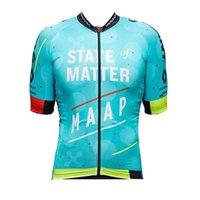 Pro Team Maap Cycling Jersey Men Manga corta Montaña CAMISETAS CAMISETAS TROMENDIENCIAS TAPAS DE BICICLETAS DE RACIDO RÁPIDO PRINCIPIANDO TAPAS DEPORTES OUTTRASE 120506
