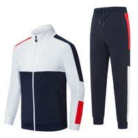 Maglione da uomo Abiti tuta tuta da uomo Sweatsuit Sport Suit Donne Jogging Giacca Felpa Set e Pantaloni Mens Hoodie SportSwearugb4ee