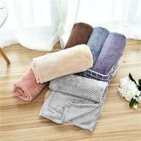 الحيوانات الأليفة بطانية منشفة صغيرة القط الكلب لينة أكثر دفئا جميل بطانيات سرير وسادة عالية الجودة الكلب بطانية غطاء 6 ألوان LLS746