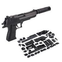 DIY Сборка военного оружия головоломки пустыни орла пистолет пистолет головоломки малыш мальчиков подарок на открытом воздухе игрушка для детей