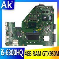 X550VX MB._4G / -6300HQ / AS X550VX REV 2.0 для ASUS FX50V K550VX X550VQ материнская плата тестирует OK Exchange !!! 1