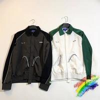 반사 재킷 여성 남성 1 고품질 스플 라이스 패치 워크 방수 방수 재킷