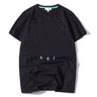 2020 جديد رجل إمرأة مصمم القمصان المطبوعة أزياء الرجل تي شيرت أعلى جودة القطن عارضة تيز قصيرة الأكمام luxe بلايز حجم S-XXL
