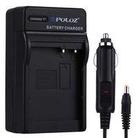 Carregador de carro da bateria da câmera digital de Puluz para bateria de Panasonic DMW-BLC12