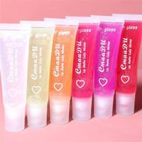 Cmaadu cristal gelée lèvre lèvre brillant hydratant huile de lèvre lèvres lèvres lèvres humide cerise gloss brillant transparent transparent beauté maquillage