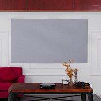 Projektionsbildschirme 100-Zoll-tragbarer Projektor-Bildschirm HD 16: 9 Frameless Video Faltbare Wandmontage für Heimkino-Büro-Filme1