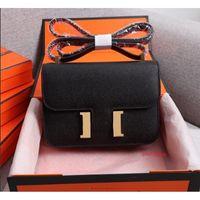 19 cm 24 cm Cowskin ESPOM Genuine Borse in pelle Borsa di modo Borsa da donna Borse a tracolla Donne Lady Handbag Factory 0022