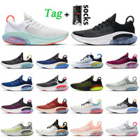 Nike Joyride Run Fly Knit Moda caliente Joyride Mujeres Hombre Running Shoes Top QualityPlatinum Tint White Black Blue Blue Blue Entrenadores Green Sneakers
