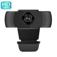 HD WebCam 1080P PC Web USB Camer Came Cam видео конференция с микрофоном для портативного компьютера1
