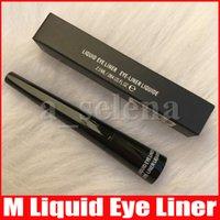 M trucco Eye Impermeabile Eyeliner Eyeliner Eye Liner Cool Black Liquid Penna per occhio con pennello rigido 2.5ml