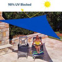 Tende e rifugi all'aperto Impermeabile Impermeabile Sole Triangolare Triangolare Shade Air Shelter Garden Patio Piscina Piscina Camping Picnic Tenda Ploth1