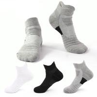 Chaussettes de cheville à la cheville pour hommes Chaussettes d'athlétisme Comfort Coussin Sports Sports Sports Sportswear Chaussette Low Cut