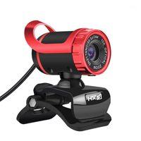 Веб-камеры HXSJ 480P Web Cam с поглощением микрофон MIC для Skype Android TV Rotatuble компьютерные специальные эффекты камеры веб-камеры (красный) 1