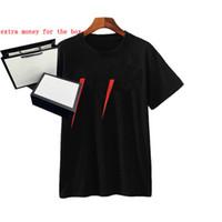Numéros 20ss Imprimer Hommes T-shirt Créler designer Lettre Décontracté Summer Summer Hommes Femmes T-shirts Tops Solid Couleur Tops Tees Grossistes