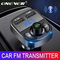 FM 송신기 AUX 변조기 블루투스 핸즈프리 자동차 키트 자동차 오디오 MP3 플레이어 3.1A 빠른 충전 듀얼 USB 자동차 충전기 무료 DHL