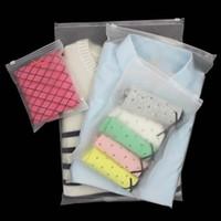 الأكياس التعبئة متجمد متجمد أكياس مكافحة الحمض حفر ماء البلاستيك ziplock حقيبة الجوارب قمصان داخلية أكياس مخصصة 0319PACK