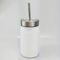 Sublimation Mason Jar in Großhandel 500 ml Breitmasur Mason Becher Edelstahl Solar Mason Tumbler Toller ideal zum Trinken von Lebensmitteln 277 G2