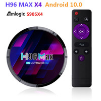 AMLOGIC S905X4 Smart Android TV-Box 4K Android10 2G 16 GB Bluetooth Wifi H96 Max X4 Google Voice Assistant Set TopBox