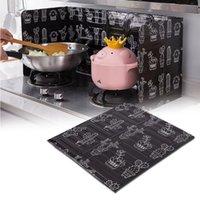 1 PC Gadgets de Cozinha Splatter Splatter Telas Placa De Alumínio Placa De Gás Respingo Prova De Splash Buffle Home Cozinha Cozinha Ferramentas de Cozinha Esteirinho Frite Escudo Térmico