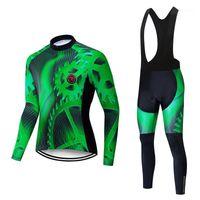 Rennsport Sets Männer Radfahren Jersey Set Bike Haftanzug Kleidung Triathlon Anzug Fahrrad MTB Kleidung Kleid Outfit Sportjacke Uniform BIB Pants Kit