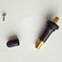 Sistema di monitoraggio della pressione della valvola ad alto sensore del sensore Hot TPMS Sistema di monitoraggio anti-esplosione Anti-esplosione negli steli della valvola dei pneumatici Snap in pneumatici Gambi della valvola della gomma