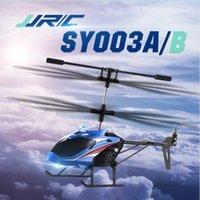 37G JJRC SY003A / B 3.5CH с одним ключом Взлет на взлетной инфракрасный пульт дистанционного управления вертолет воздушной судн для детей на открытом воздухе игрушки для игрушек для детей Q1215