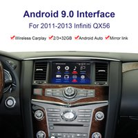 Android System Car Radio Player Видеоинтерфейс для Infiniti QX56 2011-2013 GPS-навигационный интерфейс YouTube, Netflix, Carplay