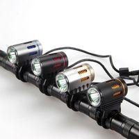 Lumières de vélo Wasafire XML L2 2000LM Lampe de vélo Lampe de vélo Phare de phare de phare 9600mAh Batterie 6 Mode Front de frontale de Frontlight imperméable